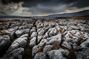 Ribblehead Viaduct and Limestone Pavement